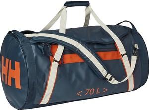 Granatowa torba podróżna Helly Hansen ze skóry ekologicznej