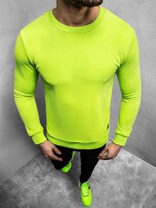 Żółta bluza Ozonee w stylu casual