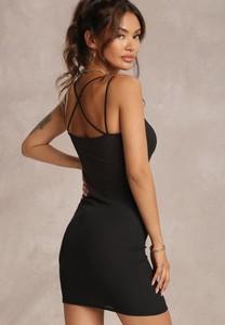 Sukienka Renee bez rękawów mini z okrągłym dekoltem