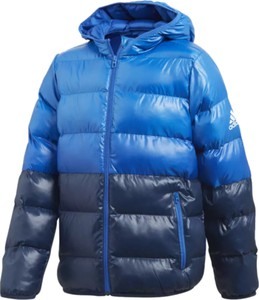 Niebieska kurtka dziecięca Adidas