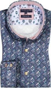 Koszula Colours & Sons z bawełny z długim rękawem