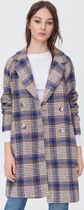 Płaszcz Sinsay w stylu casual z wełny