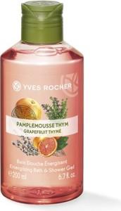 Yves Rocher Energizujący żel pod prysznic i do kąpieli Grejpfrut & Tymianek