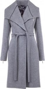 Niebieski płaszcz VISSAVI z wełny