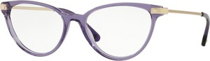 Fioletowe okulary damskie Versace