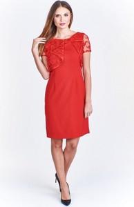 0a21c5f4c5 sukienka asos czerwona - stylowo i modnie z Allani