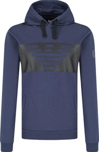 Niebieska bluza EA7 Emporio Armani