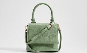 Zielona torebka Mohito średnia do ręki