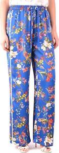Niebieskie spodnie Pinko