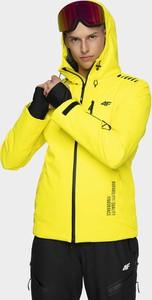 Żółta kurtka 4F