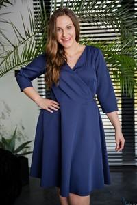 bcb78e23650d sukienki dwuczęściowe dla puszystych - stylowo i modnie z Allani