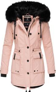 Różowa kurtka Navahoo długa