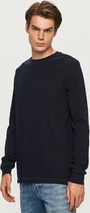 Czarny sweter Scotch & Soda z dzianiny w stylu casual