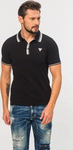 Koszulka polo Guess z krótkim rękawem z bawełny