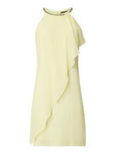 Sukienka Esprit kopertowa z szyfonu mini