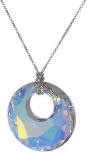 Monarti Naszyjnik srebrny z kryształem Swarovskiego