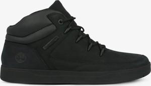 Czarne buty sportowe dziecięce Timberland
