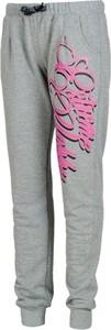 Spodnie sportowe Extreme Hobby z dresówki w młodzieżowym stylu