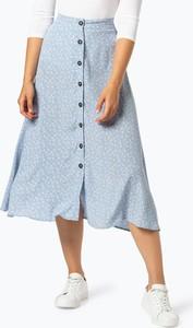Niebieska spódnica Y.A.S w stylu casual midi