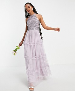 Sukienka Beauut bez rękawów maxi