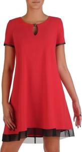 Czerwona sukienka POLSKA