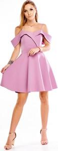 Sukienka Keyla mini rozkloszowana