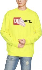 Żółta bluza Diesel w młodzieżowym stylu
