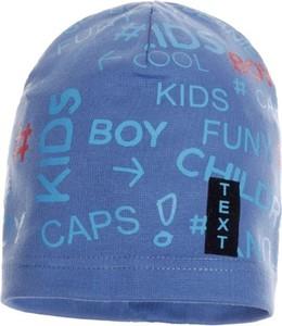 Niebieska czapka Ambra