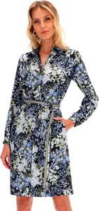 Sukienka POTIS & VERSO z długim rękawem szmizjerka