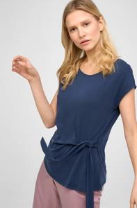 Niebieski t-shirt ORSAY z okrągłym dekoltem