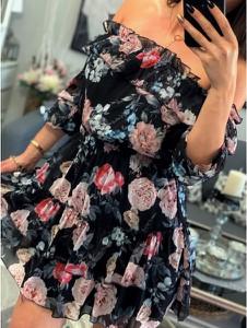 Sukienka Smlfashion.pl mini hiszpanka