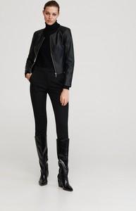 Czarna kurtka Reserved w stylu casual