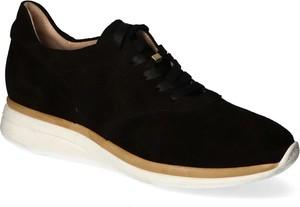Buty sportowe Ryłko sznurowane z zamszu