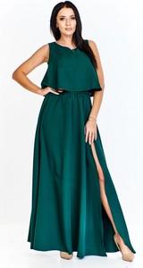 Sukienka Keyla maxi z tkaniny