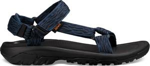 Granatowe buty letnie męskie Teva na rzepy