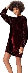 Bordowa sukienka find