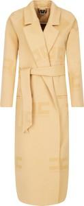 Płaszcz Elisabetta Franchi z wełny w stylu klasycznym