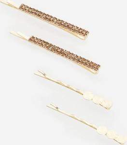 Reserved - Spinki do włosów - Złoty