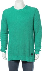 Sweter Cottonfield w stylu casual z okrągłym dekoltem