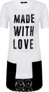 T-shirt Liu Jo Sport w młodzieżowym stylu z bawełny