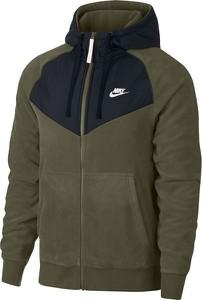 Zielona bluza Nike z plaru