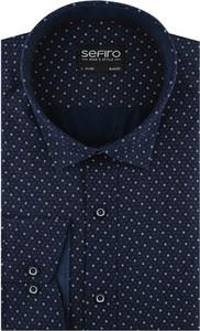 Koszula Sefiro w młodzieżowym stylu z tkaniny
