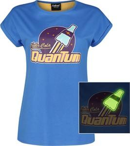 Niebieski t-shirt Emp