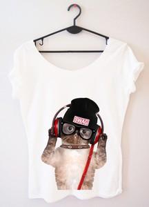 T-shirt Time For Fashion z okrągłym dekoltem z krótkim rękawem