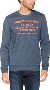 Niebieska bluza Mustang