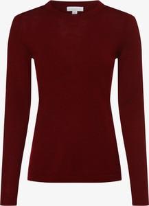 Czerwony sweter brookshire z dzianiny w stylu casual