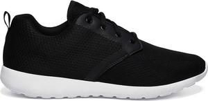 Czarne buty sportowe Top Secret sznurowane