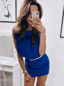 Niebieska sukienka magmac.pl