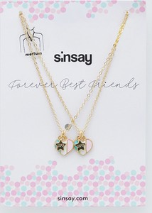 Sinsay - Komplet naszyjników - Złoty
