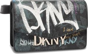 Czarna saszetka DKNY